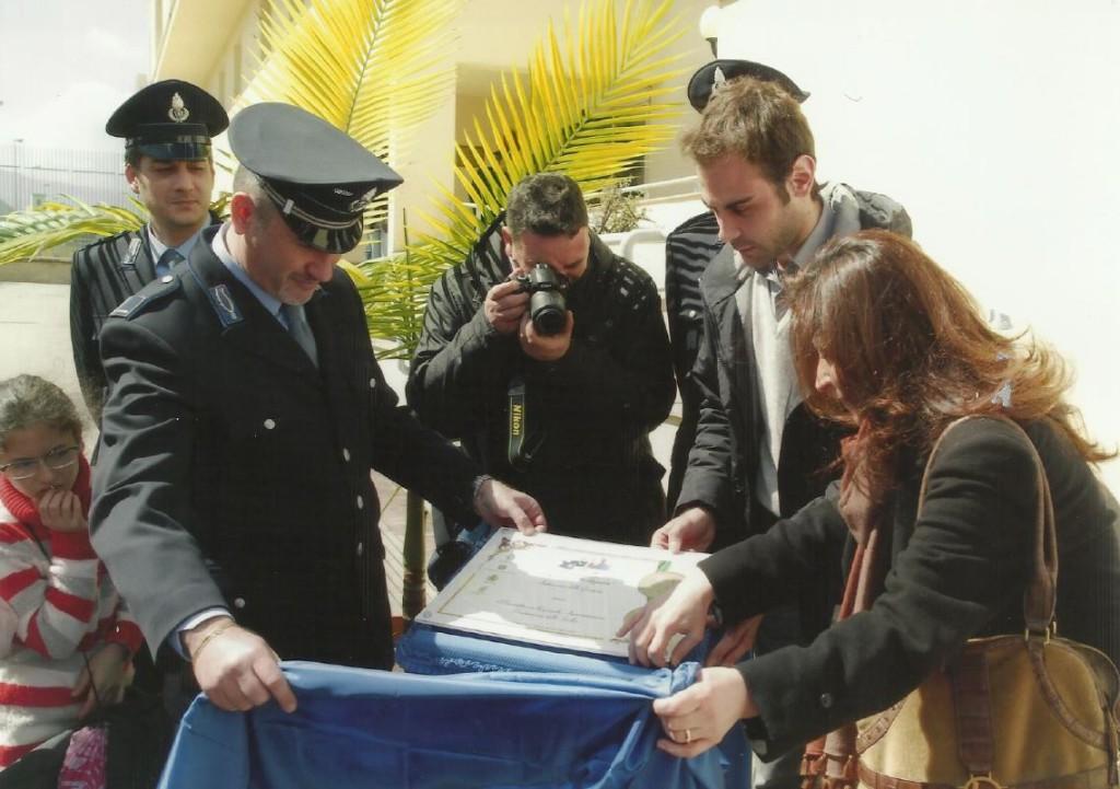 Targa Provveditorato Carceri