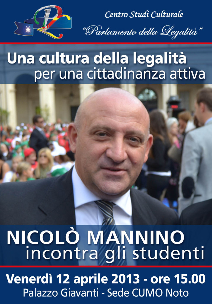 manifesto mannino