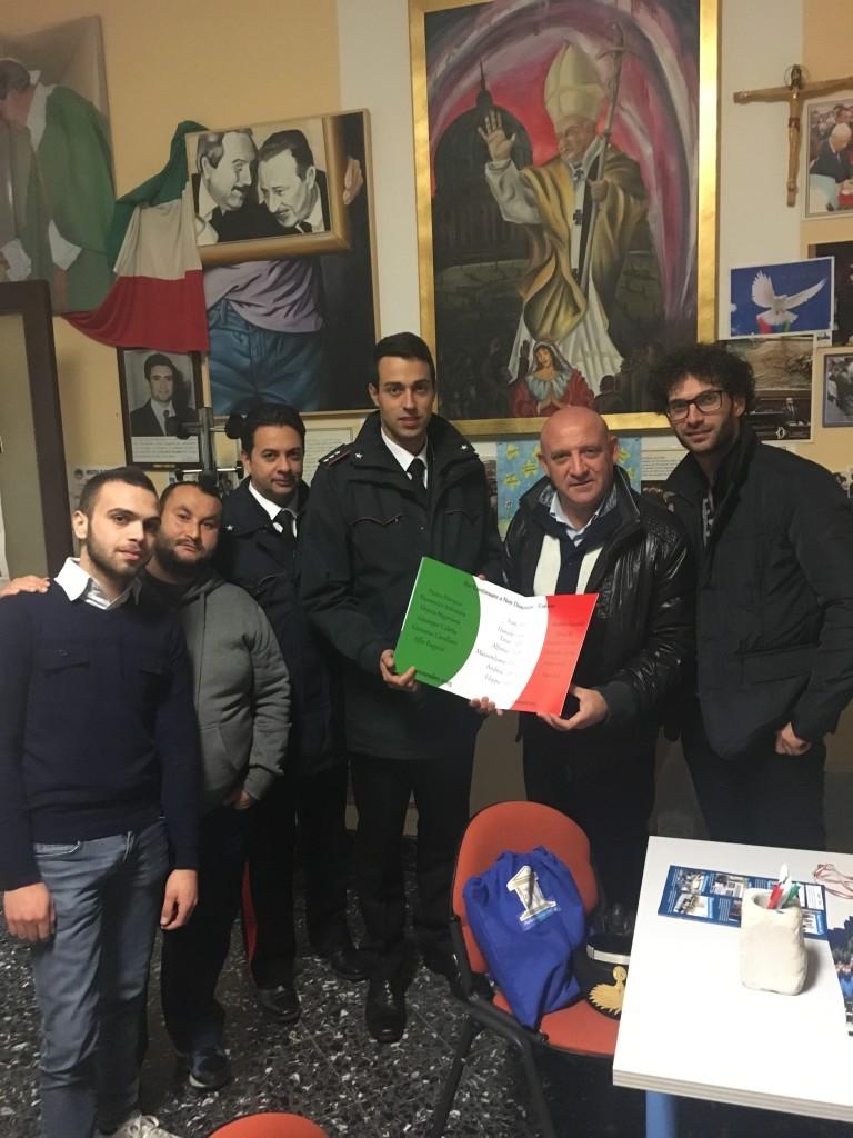 Consegnata la bandiera con i nomi delle vittime di Nassirya